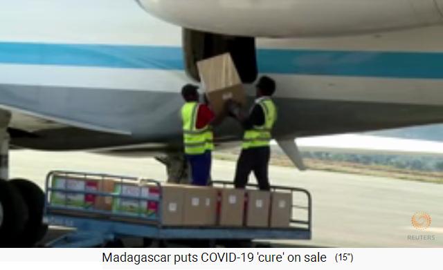 Madagaskar Corona Heilmittel
