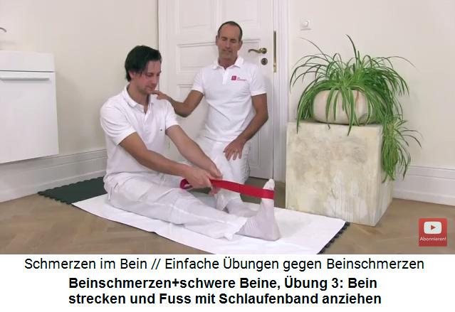 11a heilung von beinschmerzen schwere schmerzende beine liebscher bracht bungen. Black Bedroom Furniture Sets. Home Design Ideas