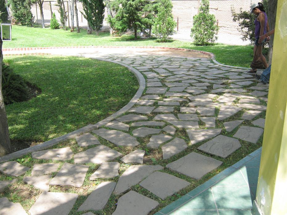 garten steinplatten – godsriddle, Garten und erstellen