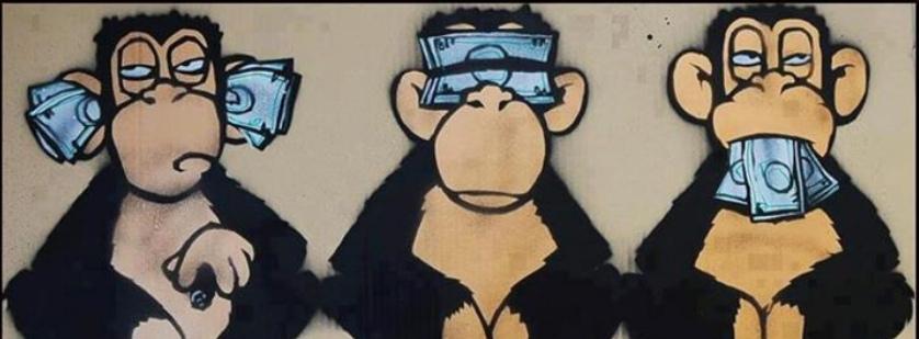 wahrheiten 29 truths 29 drei affen three monkeys. Black Bedroom Furniture Sets. Home Design Ideas